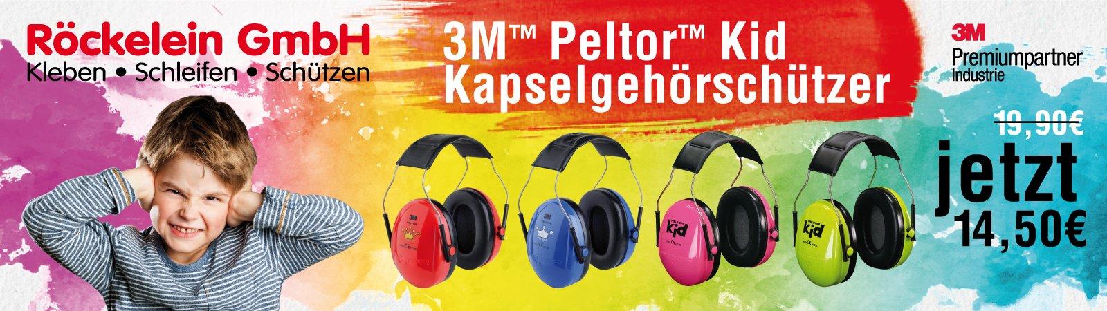 3M Peltor Kid Kapselgehörschützer