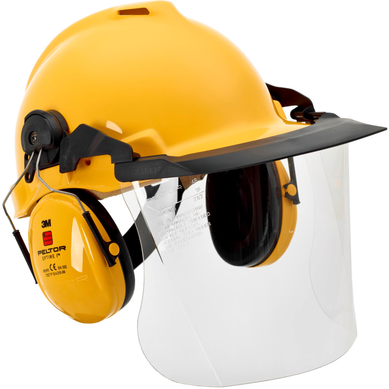 Kopf,- und Gesichtsschutz - 3M Kopfschutz mit Peltor