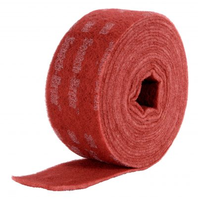 3M-Scotch-Brite-Durable-Flex-Vliesrolle rot